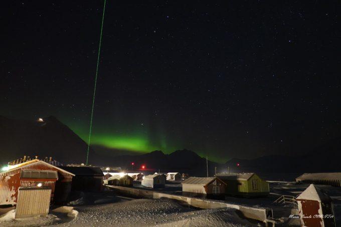 La stazione Dirigibile Italia di Ny-Alesund alle Svalbard