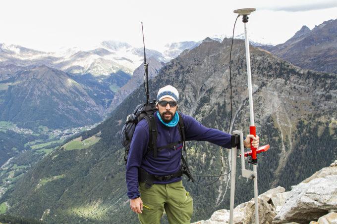 Cristian Scapozza, geomorfologo alpino