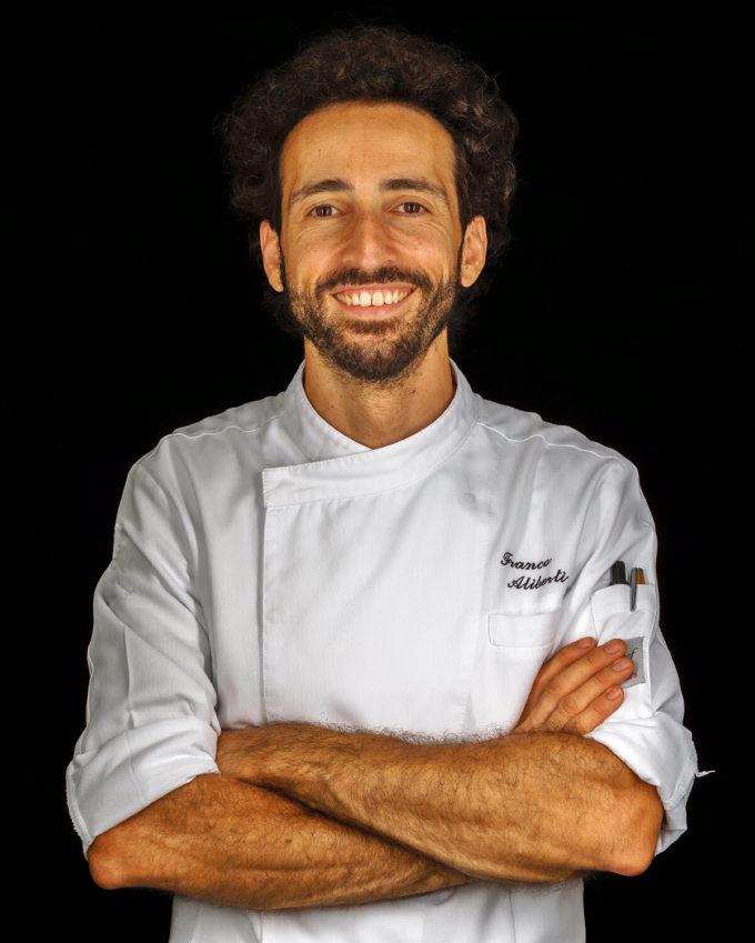 Lo chef Franco Aliberti