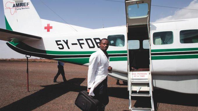 I flying doctors di Amref