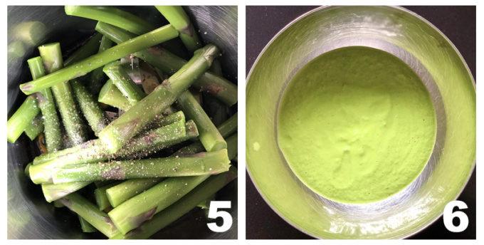 ricette veloci ricette sostenibili ricette antispreco Franco Aliberti asparagi