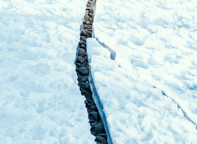 Crepa nel permafrost