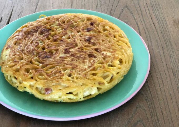 Frittata di spaghetti di Franco Aliberti