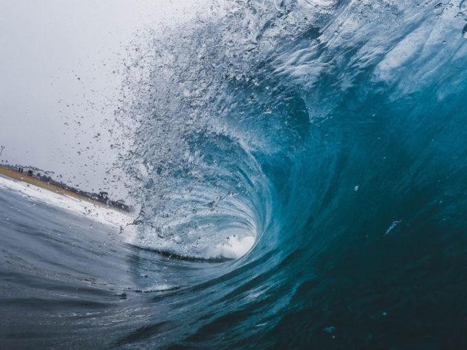 onda nel mare
