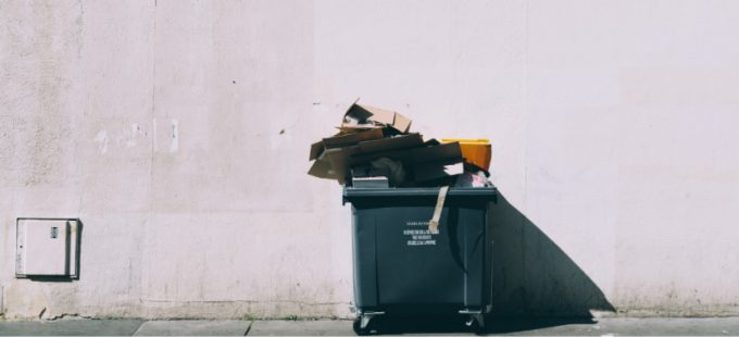 Cassonetto dei rifiuti