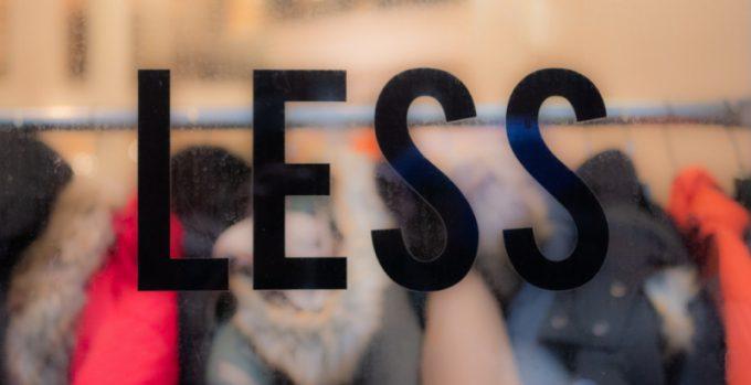 Moda sostenibile - Less is more
