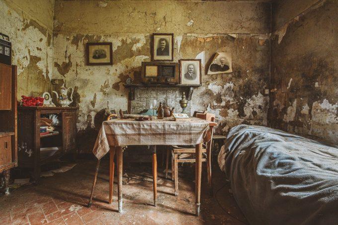 casa abbandonata e urbex
