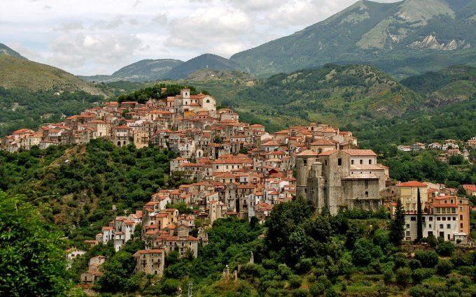 Comuni italiani: borgo di Rivello