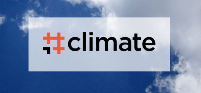 Logo di #Climate, app green contro il cambiamento climatico