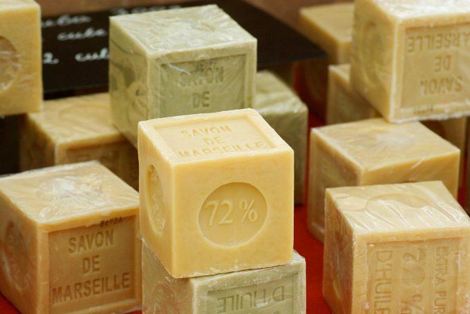 Saponi che non inquinano: sapone di Marsiglia