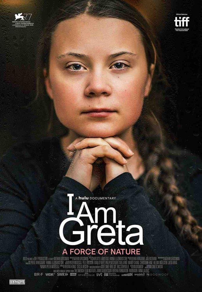 locandina documentario greta thumberg