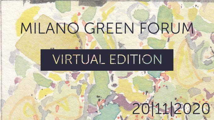 Milano Green Forum 2020