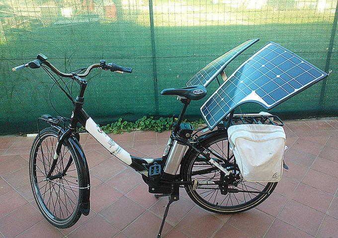 Bici elettrica fotovoltaica