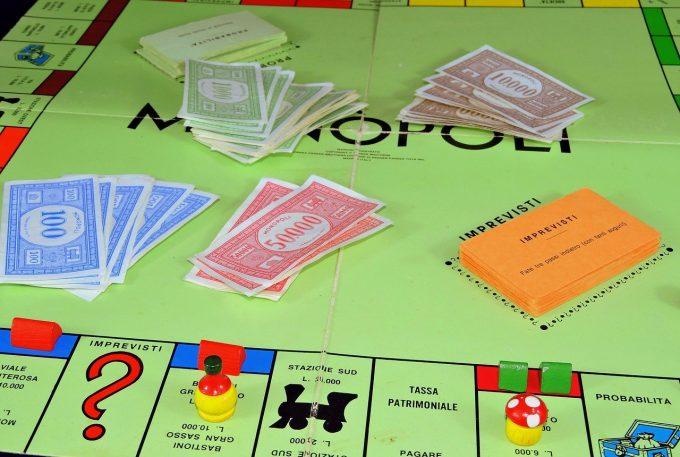 Giochi classici tradizionali: il monopoli