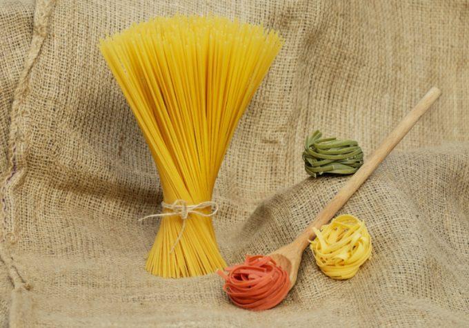 pasta lunga: spaghetti e tagliatelle