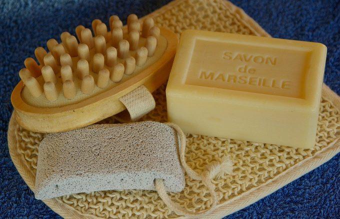 Sapone di marsiglia per l'igiene personale