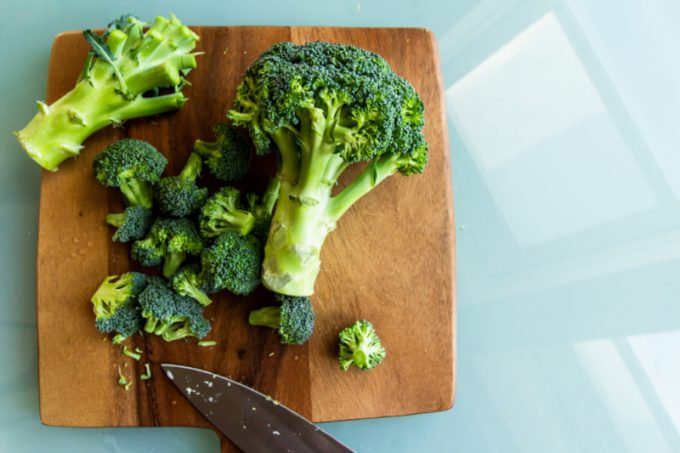 Broccolo, che appartiene alla famiglia delle crucifere