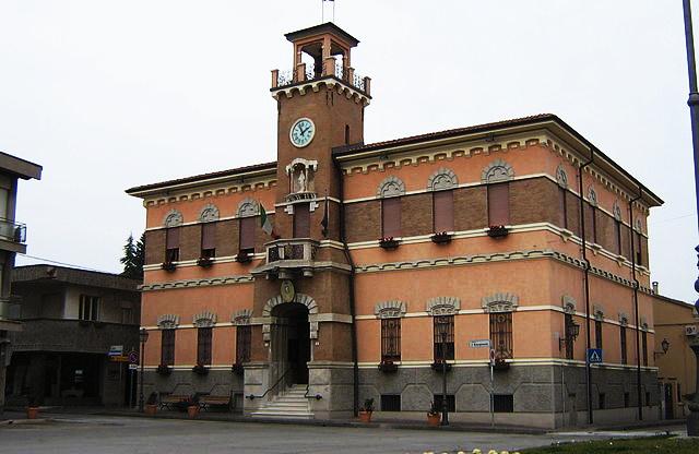 Il municipio di Gambettola