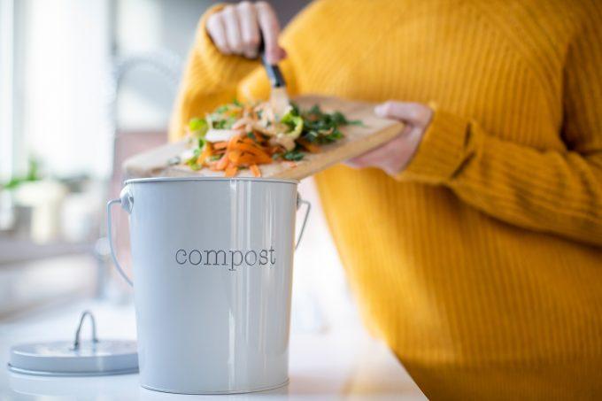 Compost e compostiera