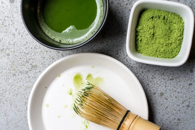 tè matcha superfood
