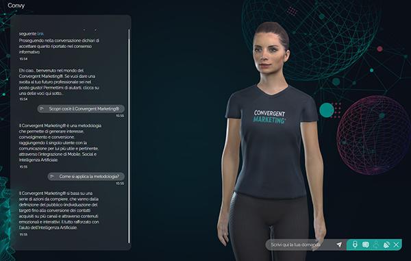 Assistente virtuale e conversational desinger