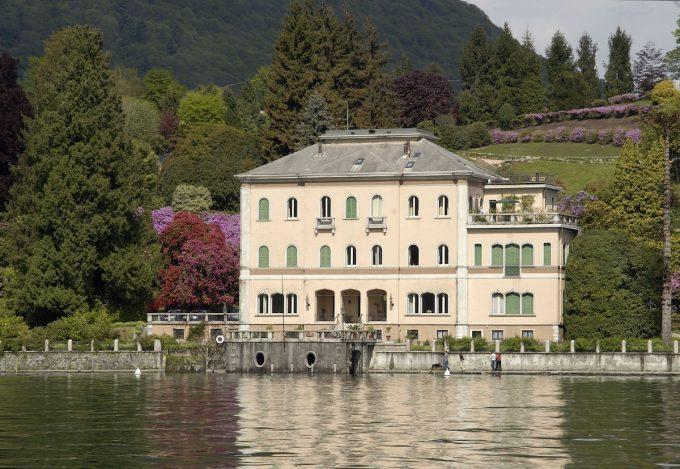 Villa Motta dal lago, Novara, Piemonte