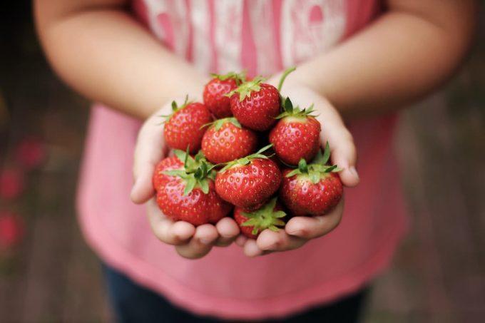 frutta e verdura di maggio: le fragole