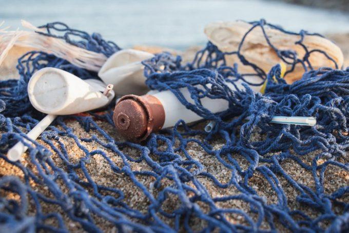 Pacific trash vortex e reti da pesca