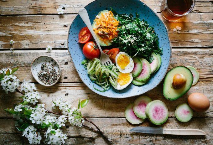 piatto con fighter foods