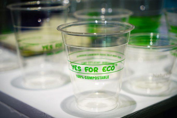 Bioplastica compostabile