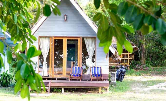 Bungalow in eco camping