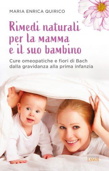 Rimedi naturali per la mamma il suo bambino: copertina del Libro