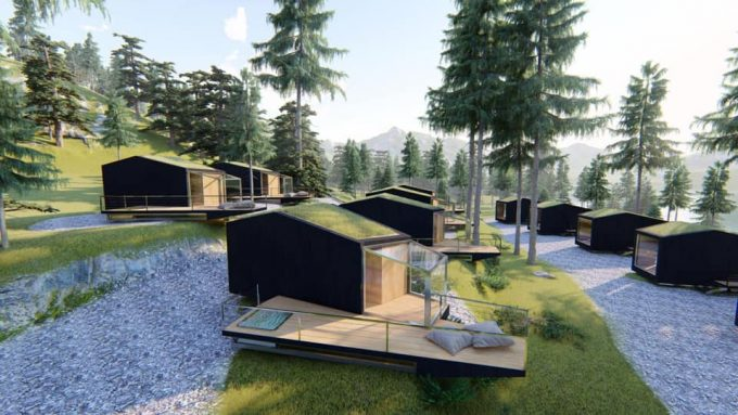Toblacher see eco camping