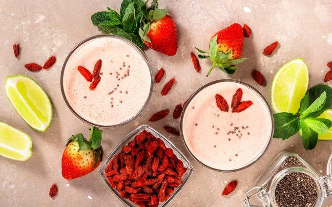 Yogurt con bacche di goji