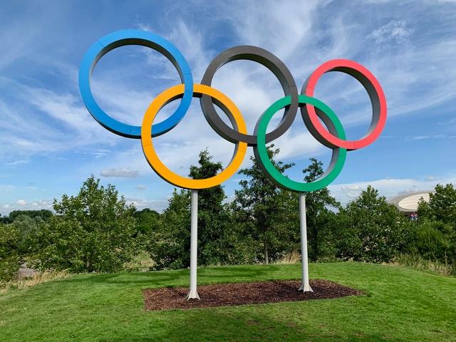 cinque cerchi olimpici