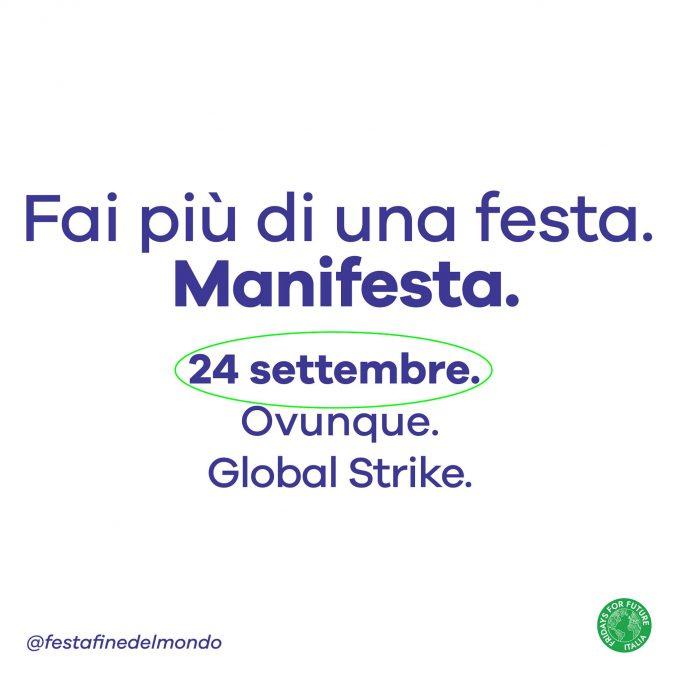 Claim Fridays for Future Italia