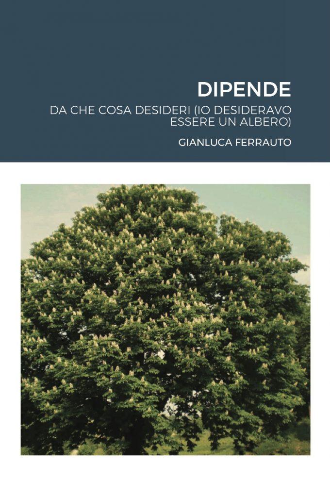 Copertina libro Gianluca Ferrauto Dipende