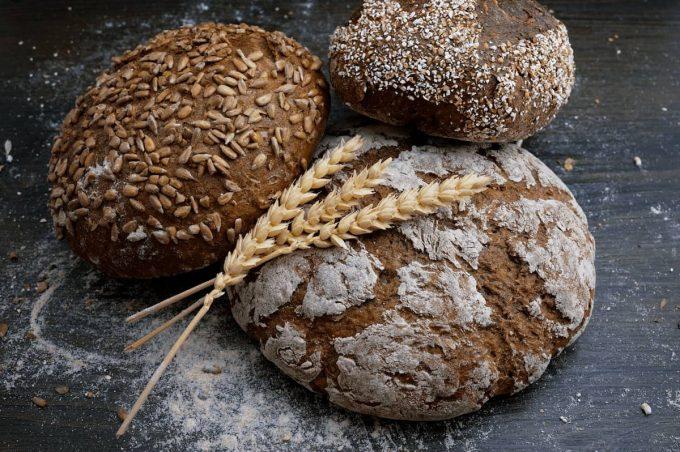 pagnotte di pane di grani antichi