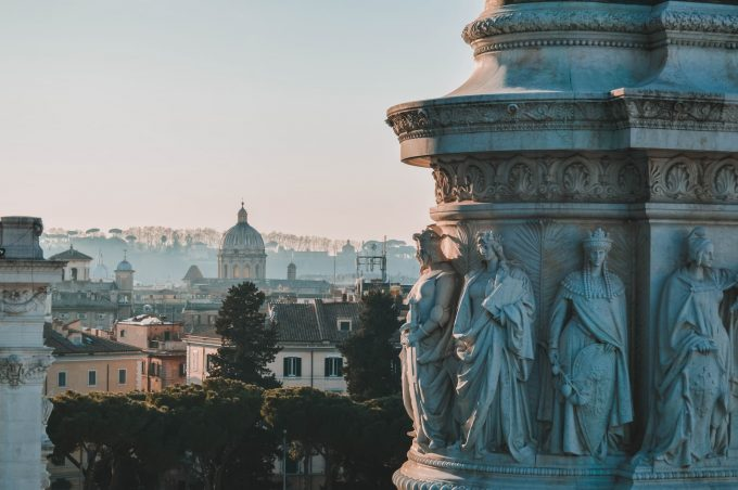 Scorcio su Roma