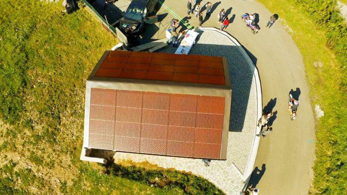 Tetto fotovoltaico eV-Chalet