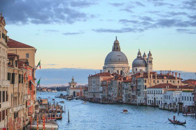 Innalzamento livello dei mari a venezia